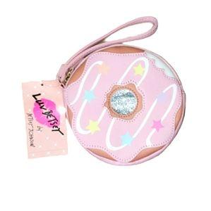 Betsey Johnson Donut Wristlet | Pink | NWT …